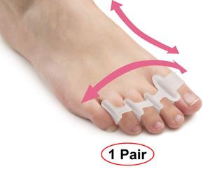 Gel Toe Separators for Bunion Corrector Plantar Fasciitis Hammer Toes Yoga Sport