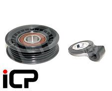Air Con A/C Belt Tensioner Idler Pulley & Adaptor Fits Subaru Impreza 92-07