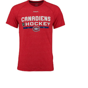 NHL Montreal Canadiens Supreme Performance Shirt New Mens Sizes MSRP $30