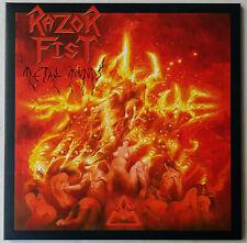 Razor Fist – Metal Minds - LP - 2009 - First Press - Limited - HR Records