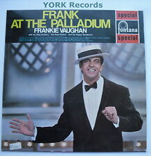 FRANKIE VAUGHAN - Frank At The Paladium - Ex Con LP Record Fontana SFL 13083