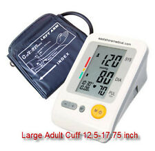 Digital arm blood  pressure monitor Jumbo LCD w/ extra large cuff , ac adaptor