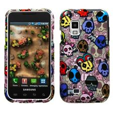 For Samsung Fascinate i500 Protector Hard Case Snap on Phone Cover Skull Party