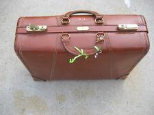 Vintage Gladiator  Leather Suitcase
