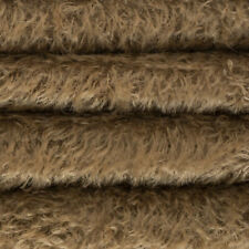 """1/4 yd 300H Tuscan Chestnut Intercal 1/2"""" Ultra-Sparse Heirloom S-Finish Mohair"""