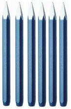 6 BELLOTA Scalpello Muratore Punteruolo Corpo Ottagonale Blu Art. 5821 14X300 MM