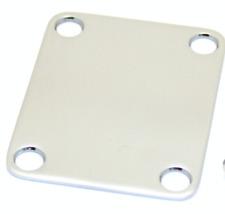 stock B - NECK PLATE chrome  Standard STRAT - TELE - Pbass Jbass - Jazzmaster -