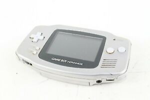 Nintendo Game Boy Advance silver Japanese game console tested working japan
