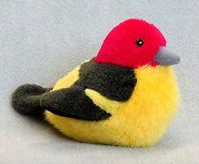 WESTERN TANAGER Audubon Bird w/ call stuffed animal plush Wild Republic