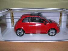 NewRay Fiat 500 Année de construction 2007 rouge rouge, 01:24 Tapez 71016