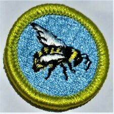 Boy Scouts of America Elective Beekeeping Clear Plastic Back Merit Badge Type H