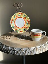 "Me Mary Engelbreit Time For Tea Collectors Coffee Cup & Saucer Set ""Good Friend�"
