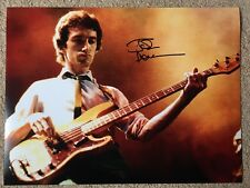 John Deacon Signed Huge 16x12 Photo - Queen Bass Freddie Mercury May COA Proof