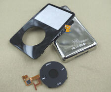 Black Front Faceplate Back Housing Case Cover Clickwheel for iPod 5th Video 80GB