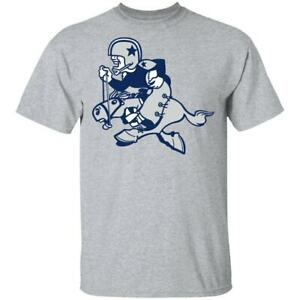 Dallas Cowboys T-Shirt NFL Funny Gray Cotton Tee Vintage Gift For Men Women Hot