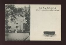 Yorkshire Yorks YORK 37 St Mary's Boarding House 1911 PPC