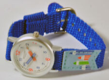 Regent montre bracelet pour enfants bleue avec en tissu à 7729.11.14 NEUF