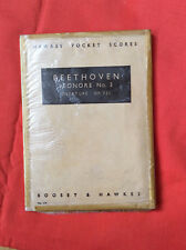 Hawkes pocket music score, Beethoven: Leonore no 3 overture, Op. 72a, HPS 119