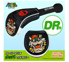 Golf Head Cover Dr w/ Marker Super Mario Koopa Nintendo Dhl shipping from Japan