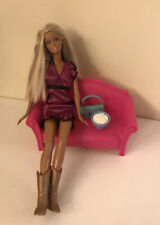 Barbie And Love Seat With Accessories. Used. Comes As A Set.