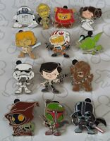 Cute Star Wars Stylized Characters Mystery Set Choose a Disney Trading Pin