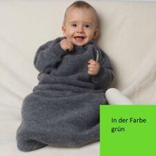 Reiff hochwertiger Winter Schlafsack mit Arm Gr. 74/80 100% Schurwolle / Flecce