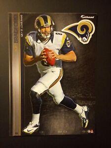 NFL St. Louis Rams Sam Bradford Fathead Decal Tradeables Vintage