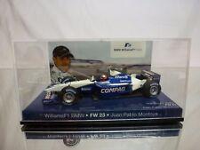 MINICHAMPS WILLIAMS FW23 BMW - COMPAQ No 6 - MONTOYA - F1 1:43 - GOOD IN BOX