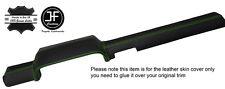 Top verde cucitura in pelle Dashboard Dash copertura si adatta a PORSCHE 914 1969-1976
