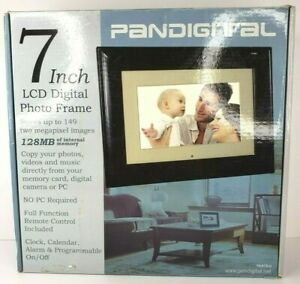 """NEW Pandigital 7"""" LCD Digital Picture Frame w/Remote Control #PAN70-0"""