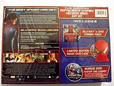 The Amazing Spider-Man Exclusive Movie Gift Set (Bluray/DVD) w/Mask DVD Case NIB