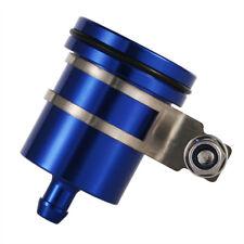 Universal M8 Motocicleta Delantera/Trasera Azul Depósito de Líquido de Frenos Cilindro Maestro