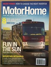Motor Home Fun In The Sun Entry Level Class A Diesel May 2015 FREE SHIPPING!