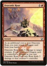MTG X4: Draconic Roar, Dragons of Tarkir, U, Light Play - FREE US SHIPPING!