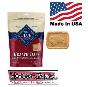 Natural Blue Buffalo Dog Pet Healthy Treats Bacon Egg & Cheese MADE IN USA