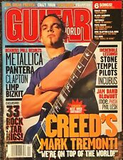 GUITAR WORLD April 2001 CREED MARK TREMONTI vintage back issue
