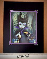 2014 Jasmine Becket Griffith Disney Villain Maleficent WonderGround Deluxe Print