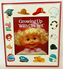 "Playmates 1986 ""GROWING UP with CRICKET"" Book for 25"" Talking CRICKET Doll"
