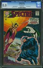 SPECTRE # 3   US DC 1968  Neal Adams art  CGC 8.50  VFN