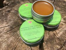 Australian Native Stingless Bee Wax Honey Organic Lip Balm 10g (Original)