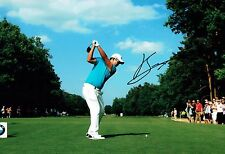Byeong-Hun AN Signed 12x8 Korean Golf Photo 3 Autograph AFTAL COA BMW PGA Winner