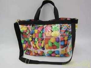 Lesportsac Nylon Tote Bag  Candy Pattern Tote Bag