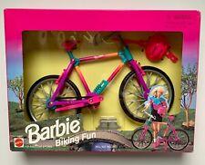 Barbie Biking Fun Mattel Vintage 1995 Nib Nrfb