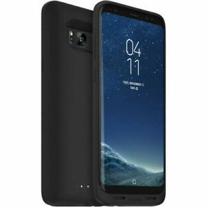 Mophie Juice Pack Slim Wireless Charging Battery Case Black For Samsung S8+