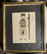 "Vintage 1970 Original L. Kersh ""Beefeater"" Watch Part Collage"