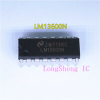 10pcs LM13600N OP-AMP DUAL BIPOLAR 16-DIP New Good quality