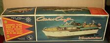 """Vintage Marx Toys 54' Chris-Craft Luxury Motor Yacht Constellation""  Kit w/ Box"