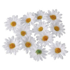 Deko Blüten Margeriten rot Schwimmblüten Bastel Blüten Kunstblumen Stoffblumen