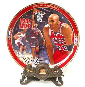 Michael Jordan Upper Deck MVP Collector Plate #4665A