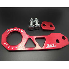 Red Car Rear Tow Towing Trailer Hook Kit Racing for HONDA CIVIC/ACURA INTEGRA EG